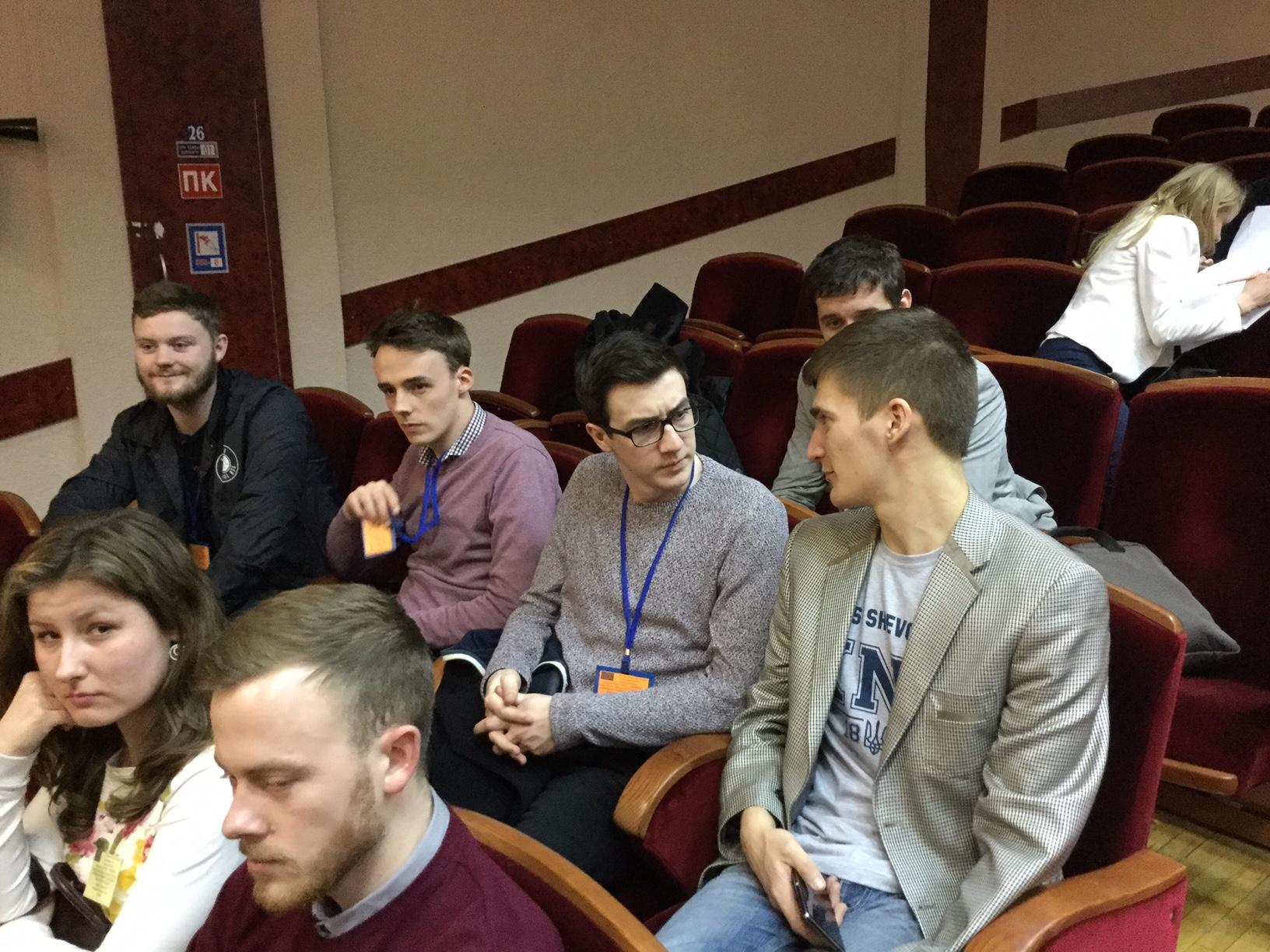 Day 1 Northumbria Student Union Team