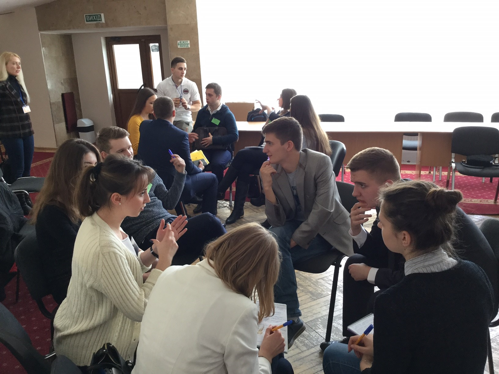 Day  1 - Student Discussion