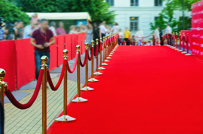 Way to success on the red carpet (Barrie