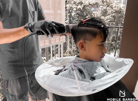 Book a haircut at home