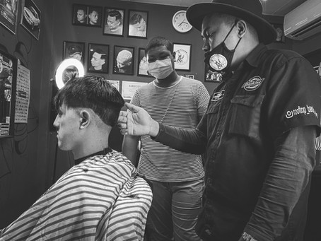 Barber course with an award-winning barber