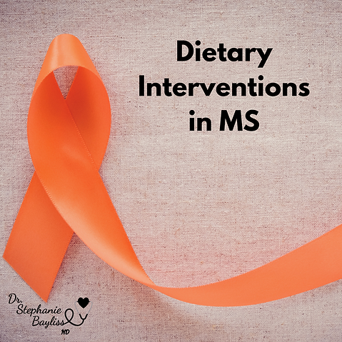 Dietary Interventions in MS | Dr  Stephanie Bayliss Naturopathic
