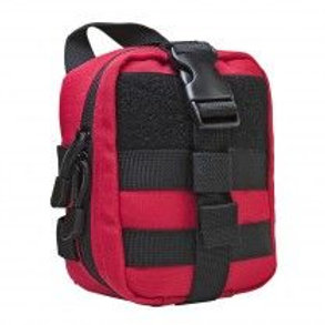 VISM® by NcSTAR® SMALL MOLLE EMT POUCH/ RED WITH BLACK TRIM