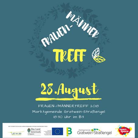 FRAUEN-MÄNNER-TREFF 28. August 2018
