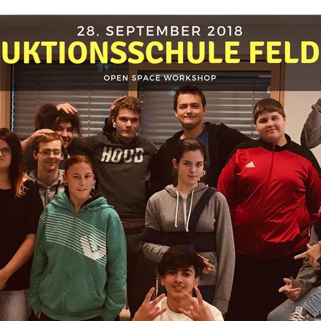 WORKSHOP - Produktionsschule Feldbach 28.09.2018