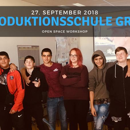 WORKSHOP - Produktionsschule Graz 27.09.2018