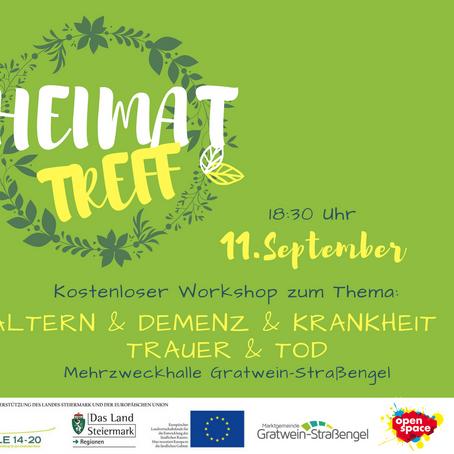 HEIMATTREFF - 11. September 2018
