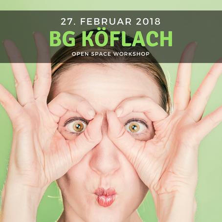WORKSHOP - BG Köflach
