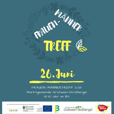 FRAUEN-MÄNNER-TREFF 26. Juni 2018