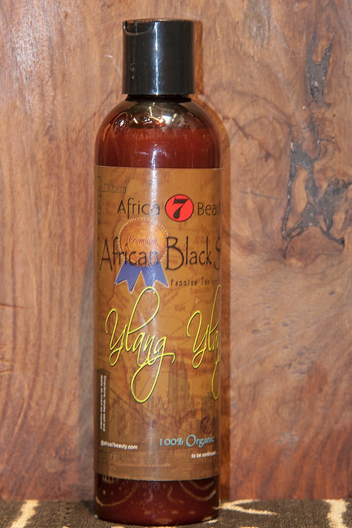 Premium African Black Soap, 8 oz.