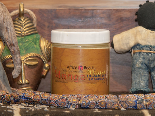 African Whipped Shea Butter, 4 oz.
