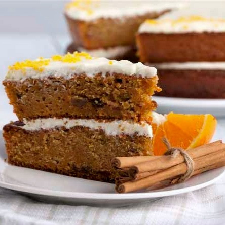 2014 - Carrot Cake with Orange Frosting