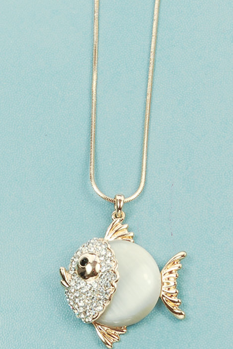 Necklace - Gold Fish