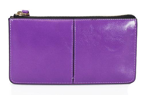 Lilac Clutch Purse