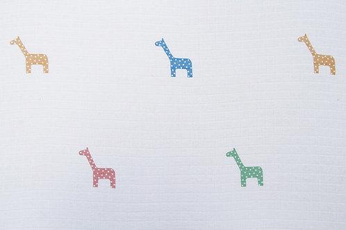 Cotton Muslin - Giraffe