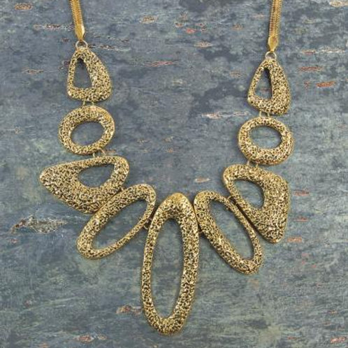Necklace - Gold statement