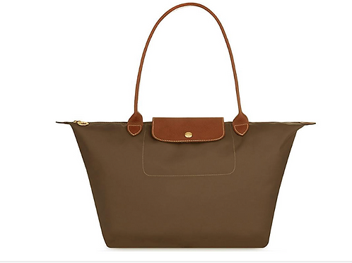 Light brown folding bag -extra large b