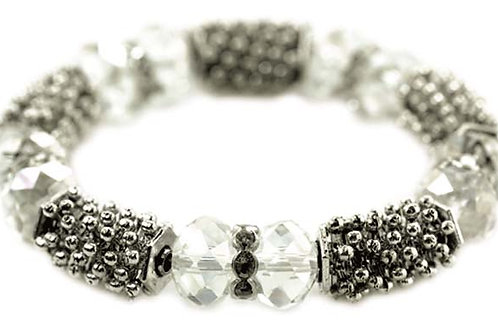 Bracelet - Bubble and crystal ball