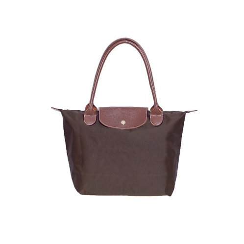 Brown folding bag -Large