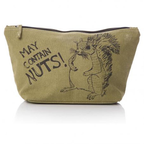 Casey Rogers Washbag - May Contain Nuts!