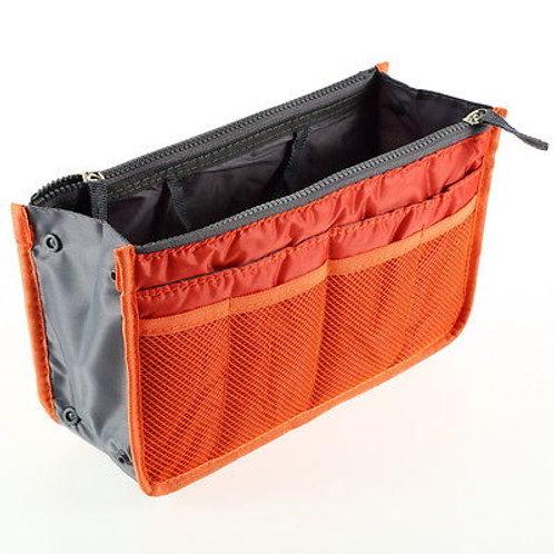 Orange Handbag Organiser