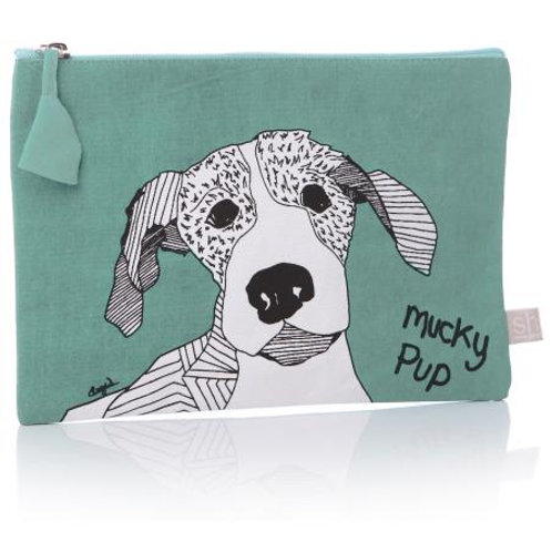 Casey Rogers Cosmetic bag - Mucky Pup!