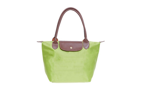 Lime Green folding bag -large