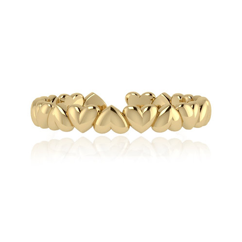 Everlasting Love Ring - Gold