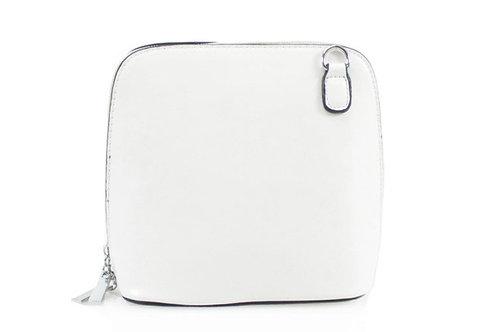 White Zip Around bag