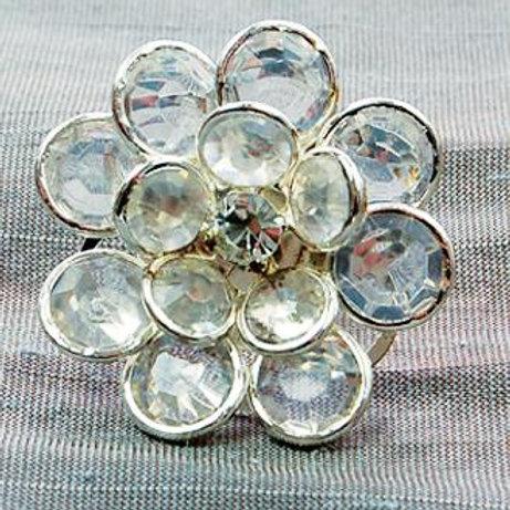 Ring - Crystal flower