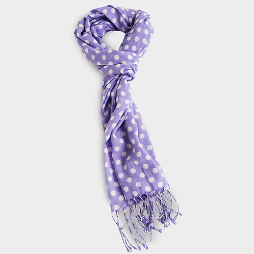 Cotton Scarf - Lilac