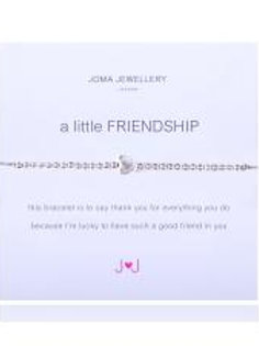 A little friendship bracelet - grey