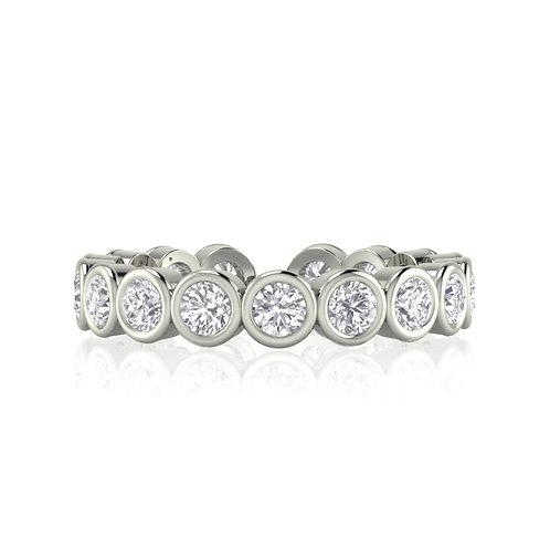 Carolina Ring - Silver crystal infinity