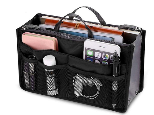 Black Bag Organiser