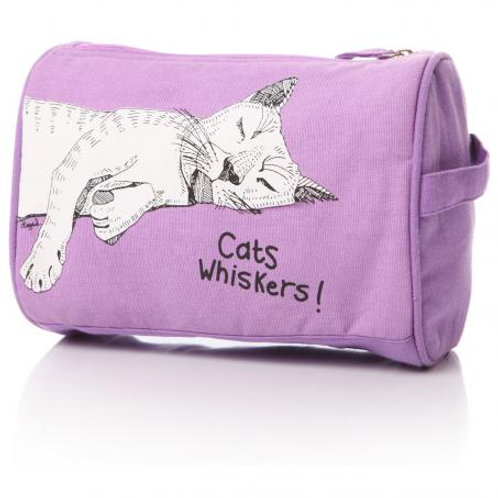 Casey Rogers Washbag - Cats Whiskers!