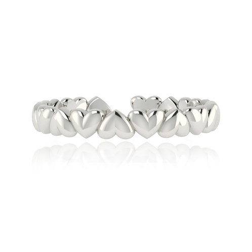 Everlasting Love Ring - Silver