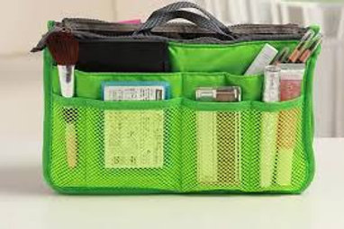 Handbag Organiser - Lime Green
