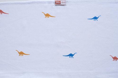 Cotton Muslin - Dinosaurs