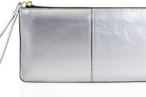 Silver Clutch Purse