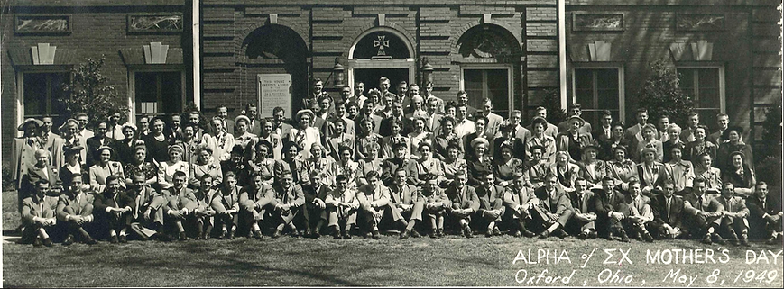 1949 Sigma Chi Mother's Weekend.png