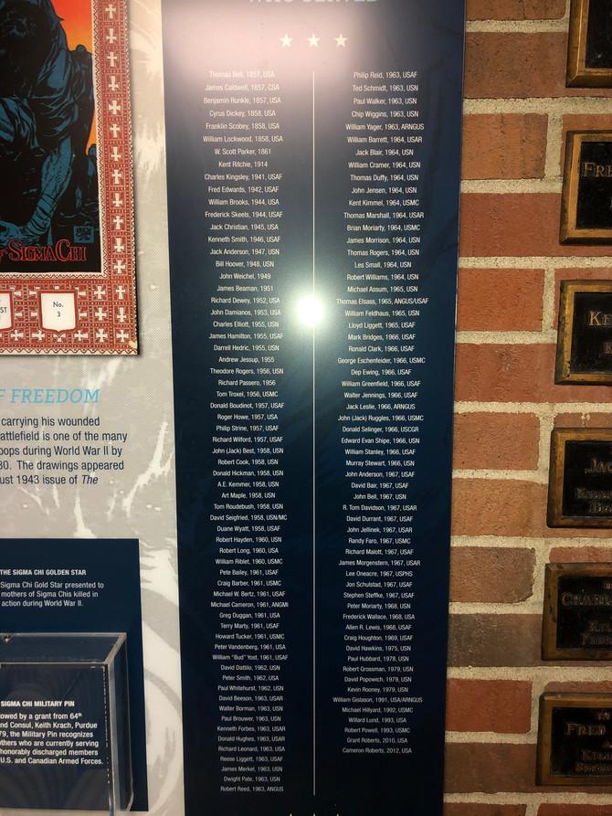 Veteran's Day Remembrance
