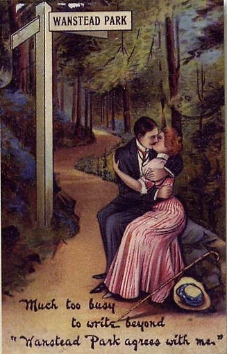 Wanstead Park romantic cartoon c1910.jpg