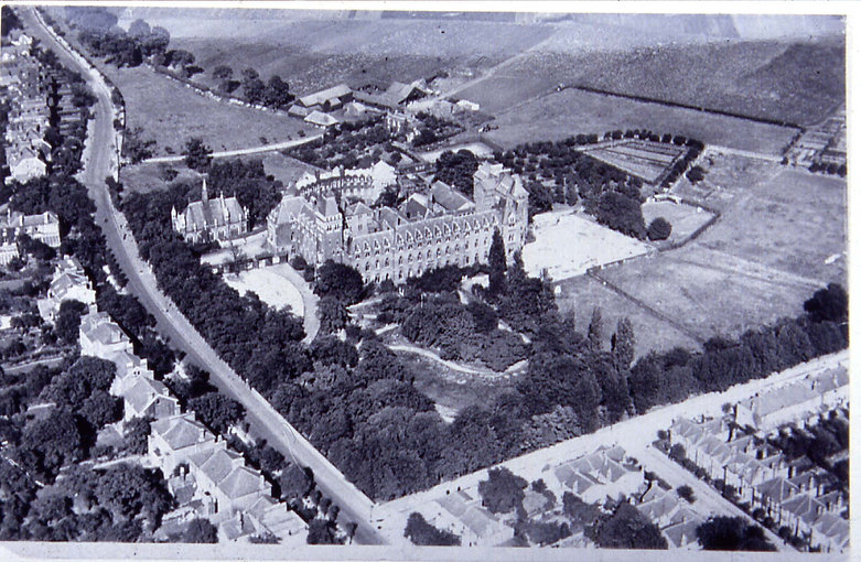 Aerial of Wanstead Hosp. & Nightingale F