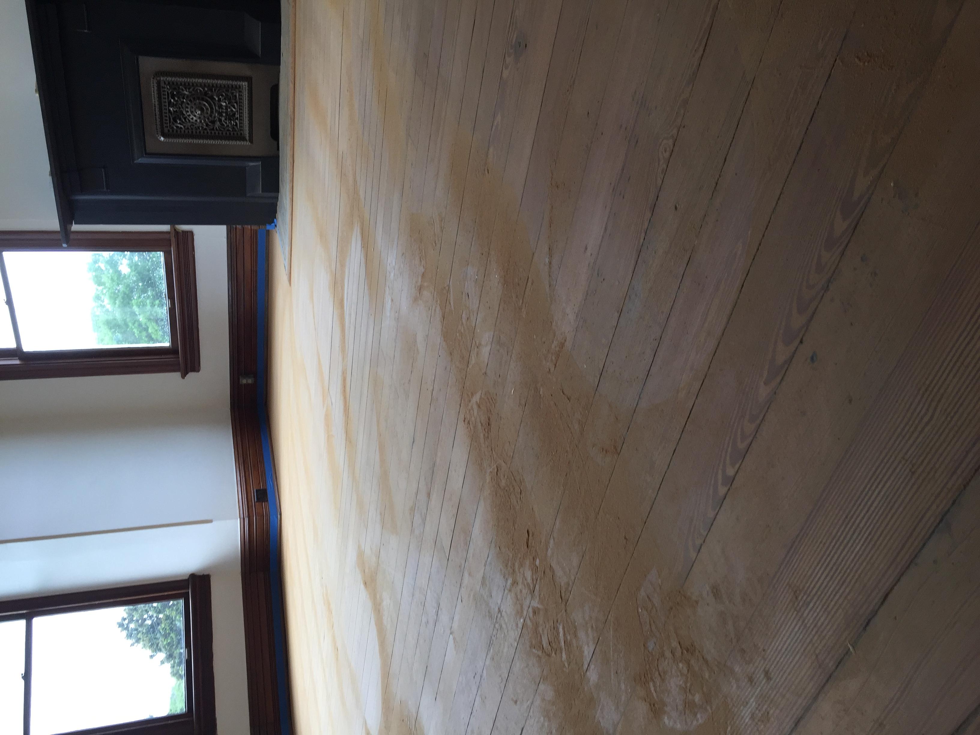 Natural Look Wood Floor Sanding