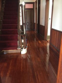 Red Wood Floor Refinishing