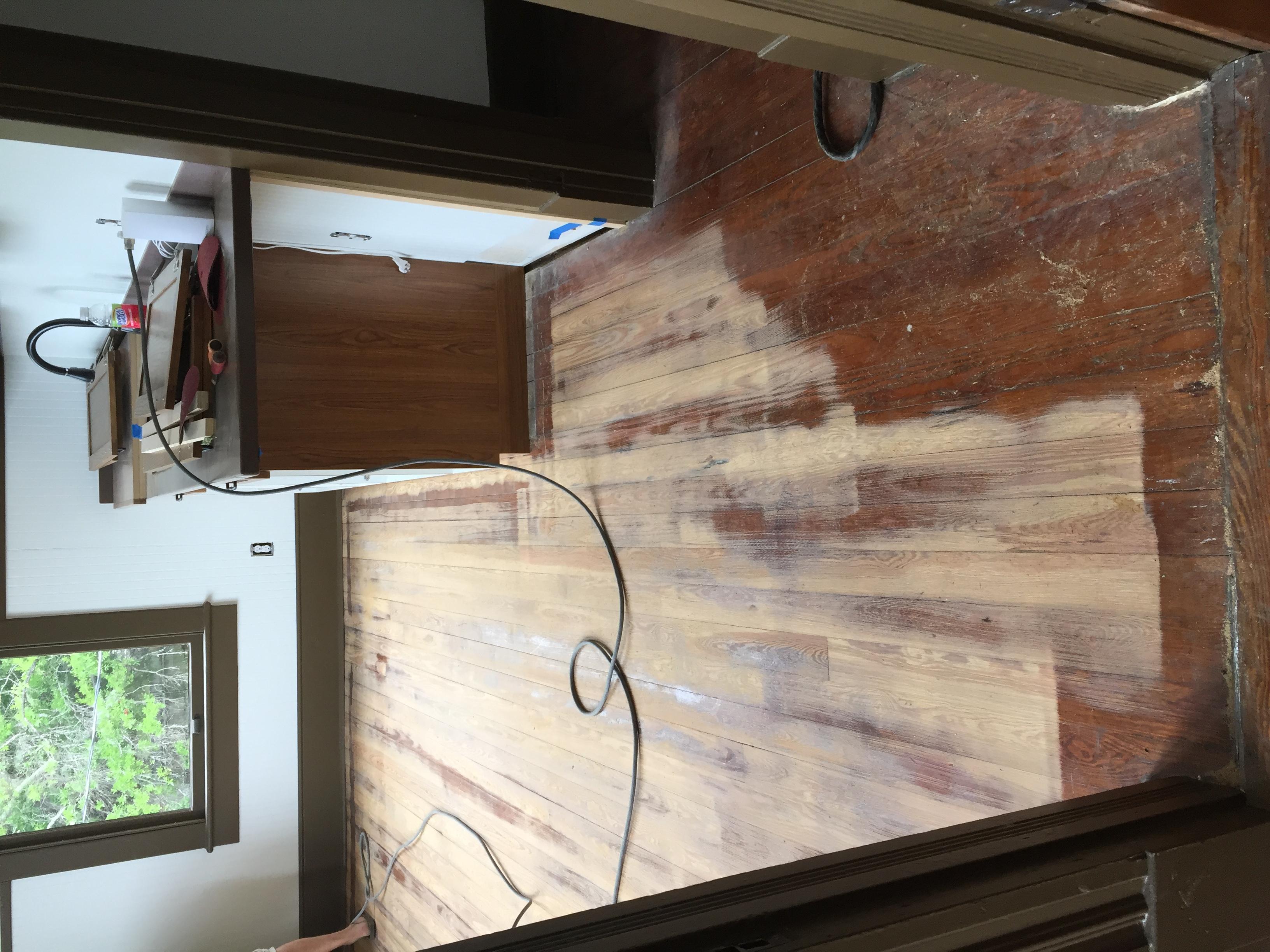 Real Wood Floor Sanding Prepared