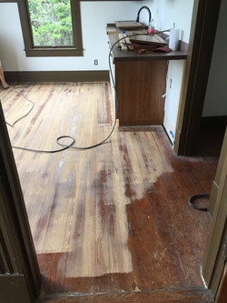 Real Wood Floor Sanding Prepared