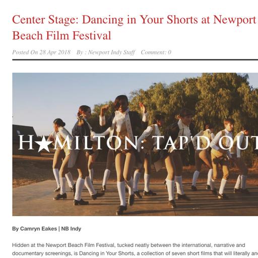 REVIEW: NEWPORT BEACH FILM FESTIVAL: DANCE