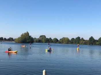 Sun Shines on Swindon Dolphin Open Water Club Champs / Summer BBQ