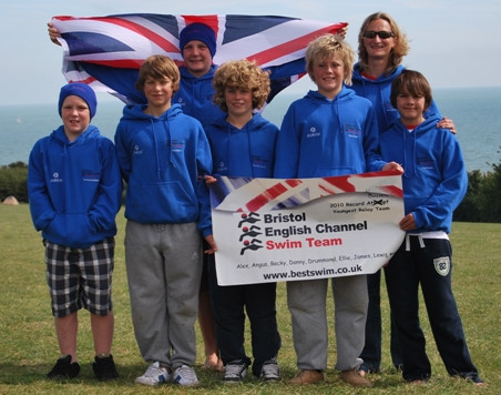 Alex Chantler-Mayne in Youngest Team Ever to Swim the English Channel